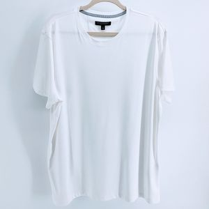 Banana Republic Luxury Touch White Shirt XL